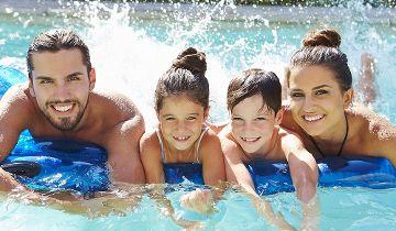 Leisure and adveture pool